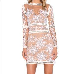 For Love & Lemons Desert Nights Mini Dress S